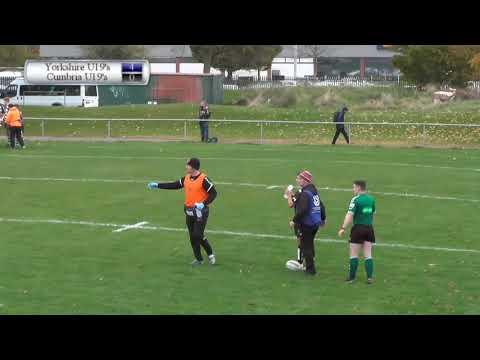 Yorkshire U19's v Cumbria U19's