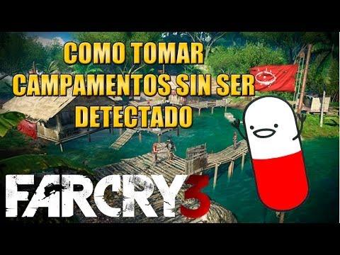 Far Cry 3 - Cómo tomar campamentos sin ser detectado