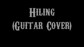 Hiling - Jay-r Siaboc (Guitar Cover With Lyrics & Chords)