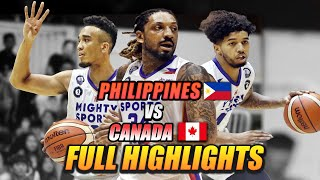 """MIGHTY SPORTS PHILIPPINES """"OFFENSE"""" HIGHLIGHT vs CANADA 