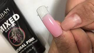 Como aplicar acrygel(polygel) com as dual form ???