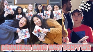 Meeting Why Don't We AGAIN // Dallas (book signing) *VLOG*