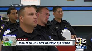 Study of shootings by Phoenix police officers expected in March