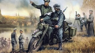 Немецкий тяжелый мотоцикл Р-12