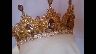 Моя золотая корона ручной работы