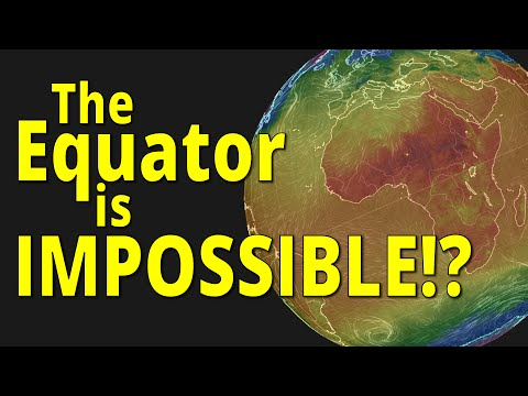The Equator is IMPOSSIBLE!? - Flat Earth vs Round Earth