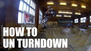 How to unturndown BMX (Как сделать антёрн БМХ, MTB) | Школа BMX Online #11