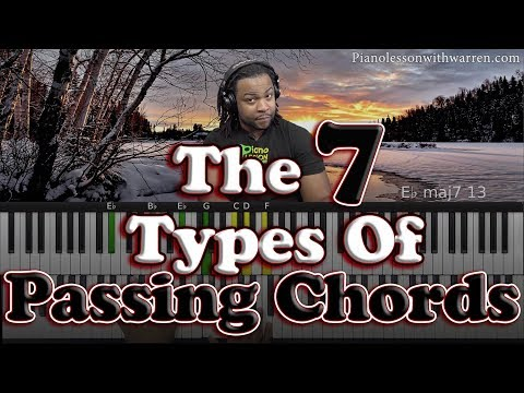 #73: The 7 MUST LEARN Gospel Passing Chords