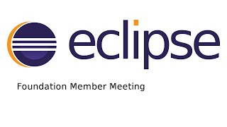 Eclipse Foundation Member Meeting September 2016