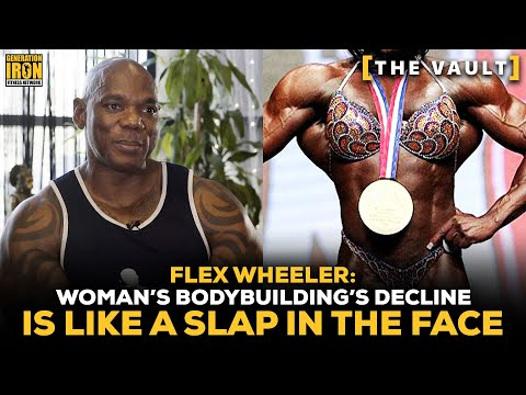 "Flex Wheeler: Women's Bodybuilding Lack Of Acceptance Is ""Like A Slap In The Face"" 