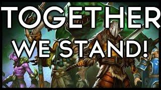 Dota 2 Mods | TOGETHER WE STAND!!