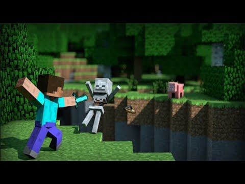 Cari trident , lanjut progress lengkapin achievement - Minecraft