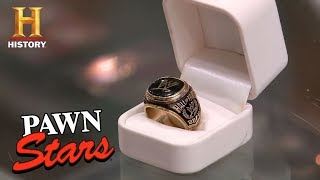 Pawn Stars: Paul Bearer\'s WWE Hall of Fame Ring | History