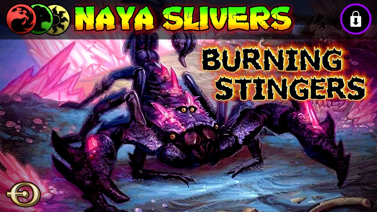 BURNING STINGERS! - Naya Slivers VS Rakdos Burn | PAUPER | MTGO League Practice
