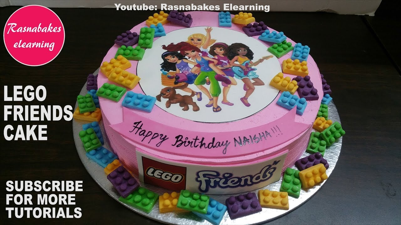 Lego Friends Birthday Cake Design Ideas For Girls Legos Sets With Photo Pic Decorating Classes