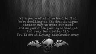 Avenged Sevenfold - Lost [Lyrics on screen] [Full HD]