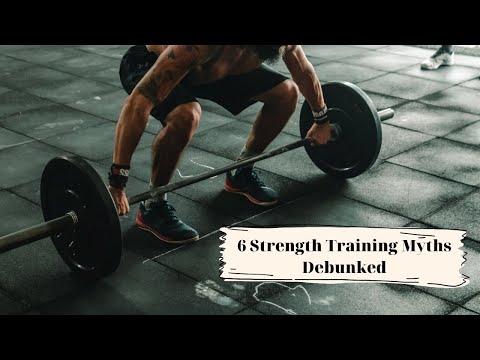 6 strength training myths debunked