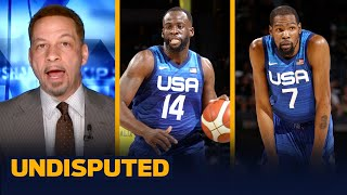 My level of concern for Team USA after losing two straight is a 9, 10 - Broussard I NBA I UNDISPUTED