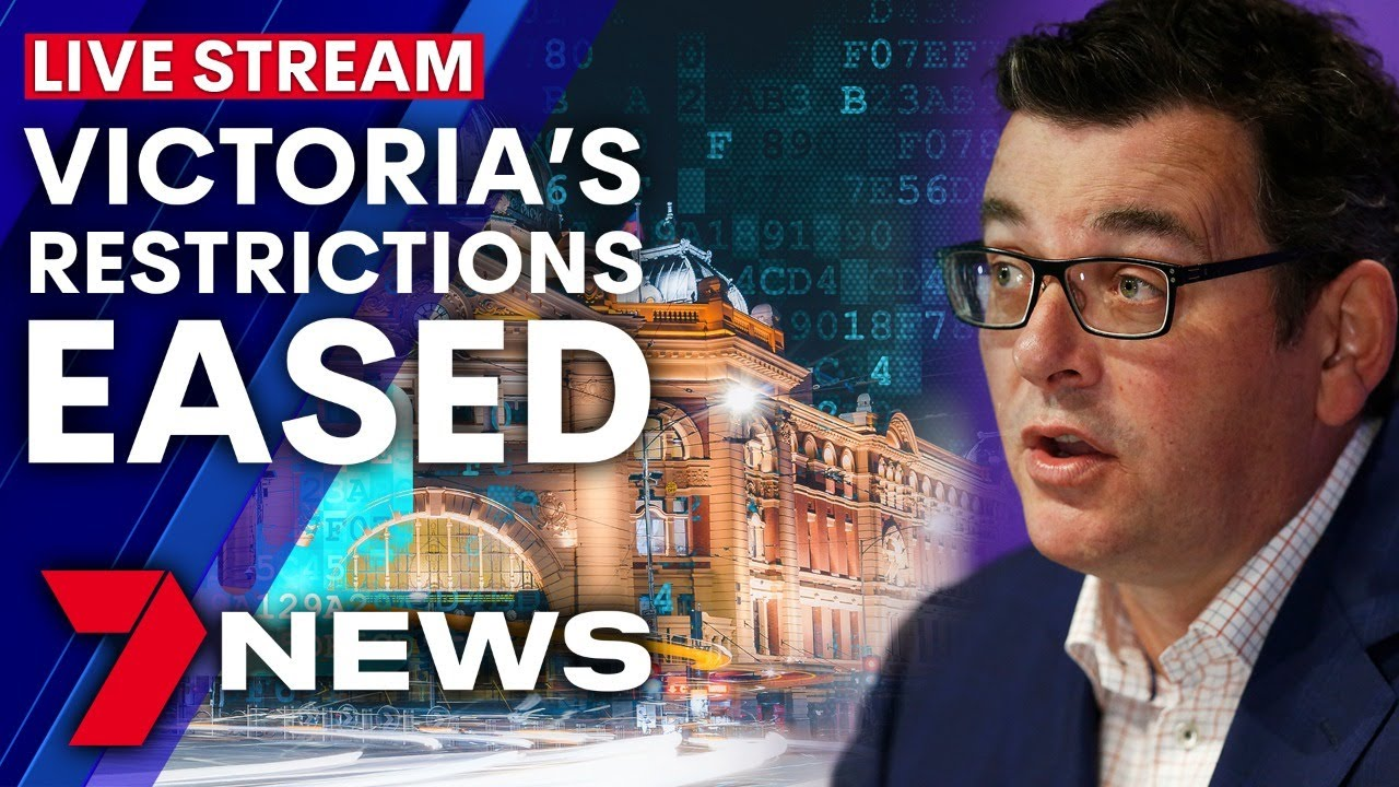 Victoria Covid Update Daniel Andrews Provides Update On Coronavirus Restrictions 7news Youtube