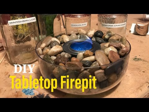 TABLE TOP FIRE PIT (DIY) 🔥
