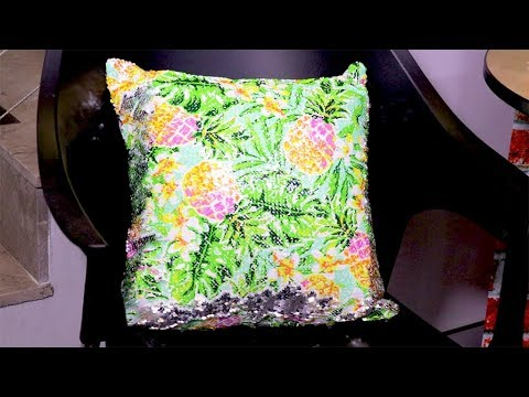 How to sublimate sequin cushion covers