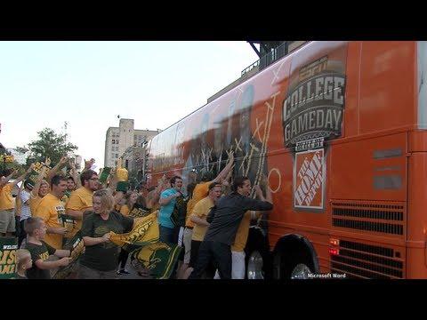 NDSU Fans Welcome GameDay to Fargo