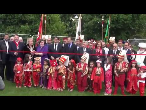 Anadolu kültür Festivali  Londra'da devam ediyor.