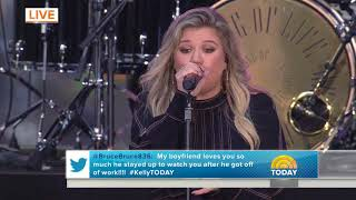 Kelly Clarkson Love So Soft The Today Show