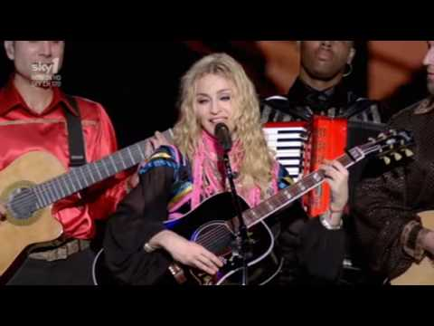 Don't cry for me Argentina Madonna Live Buenos Aires Argentina