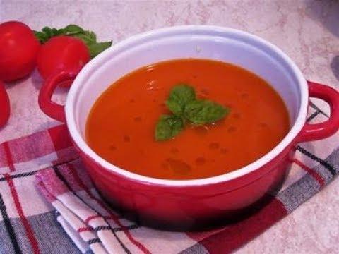 Juha od rajčice / Homemade tomato soup - SOS Kuhinja