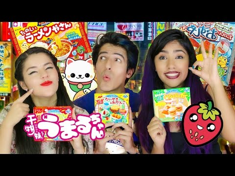 COOKING ARTIFICIAL JAPANESE FOOD  | POLINESIO CHALLENGE LOS POLINESIOS