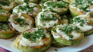 Жареные кабачки с чесноком самый простой и  НЕРЕАЛЬНО вкусный рецепт