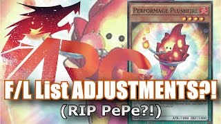Forbidden/Limited List ADJUSTMENTS Effective February 8th?! (RIP PePe?!) [ARG]