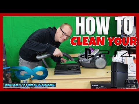 HOW TO...CLEAN YOUR PS4 PRO
