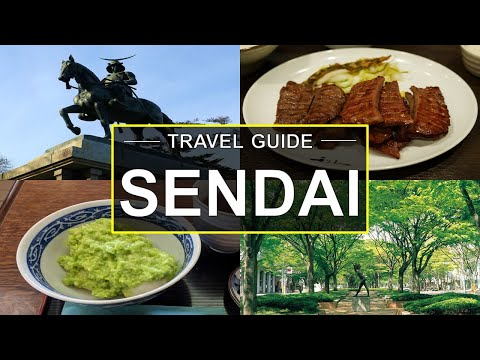 1 Day Sendai Guide | Travel Tips from a Local! | What to Do in Sendai in One Day?