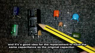 All about capacitors