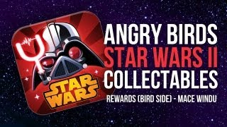 Angry Birds Star Wars 2 - Collectables - BR-10 (Bird Side Reward Chapter, Mace Windu)