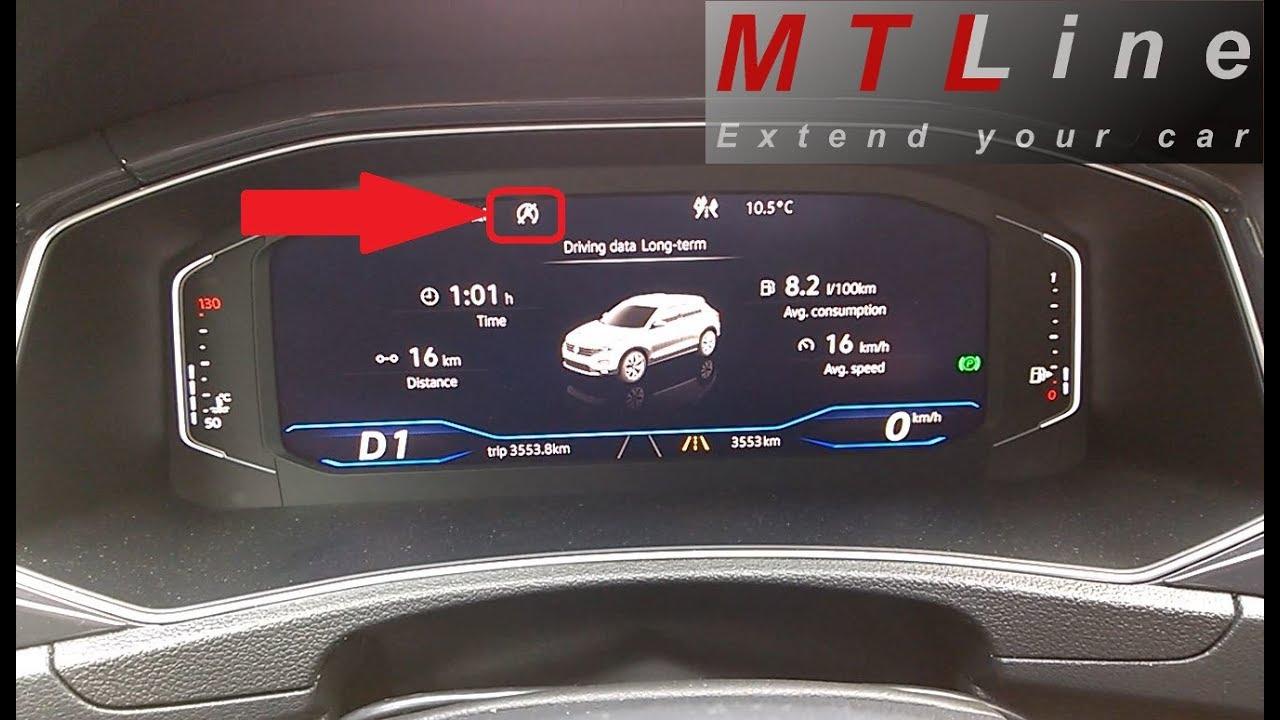 VW T-Roc, MY2018 - start/stop permanent deactivation - trajna izključitev  start/stop sistema
