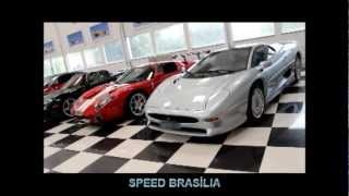 4 Super Cars Icons Together
