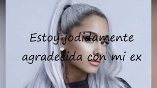 Thank U, next español Ariana Grande