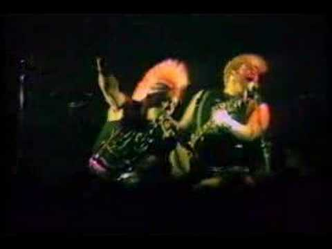 The Exploited - Army Life - (Live at Palm Cove) pt 2