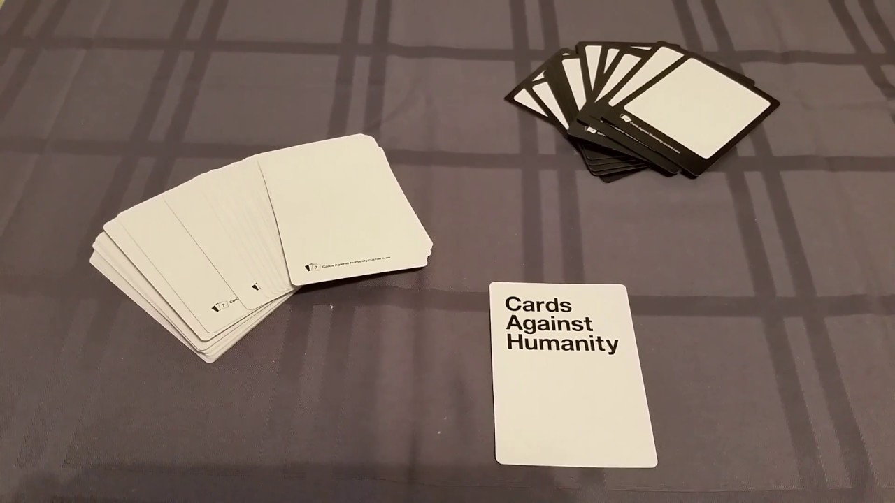 photo relating to Printable Cards Against Humanity identify How in direction of crank out your personal custom made Playing cards From Humanity