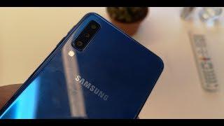 Samsung Galaxy A7 2018 : découverte du triple capteur photo et des autres nouveautés