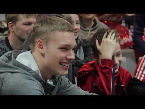 #БолейзаХоккей1502. Благотворительное мероприятие для многодетных семей. Встреча детей с хоккеистами