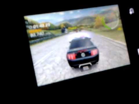 обзор игры nfs hot pursuit на Samsung GT S 5660