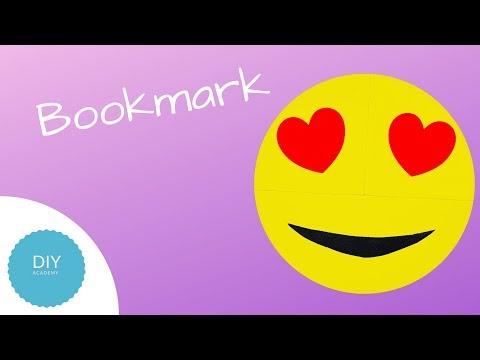 DIY - Bookmark (Emoji)