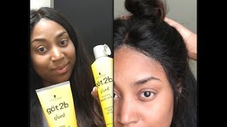 Does It Work?! Got2B Glued Styling Gel -Securing My Lace Frontal