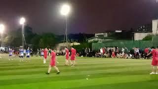 Trận bóng đá siêu kinh điển giữa FC mặt trời mọc và FCx2clup tại giải đấu Thủy Nhai cúp lần 3
