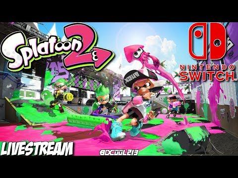 nintendo switch splatoon 2 how to play multiplayer