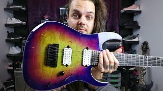 NEW GUITAR DAY! /// Ibanez RGIX7FDLB Iron label 2018 Unboxing & Review